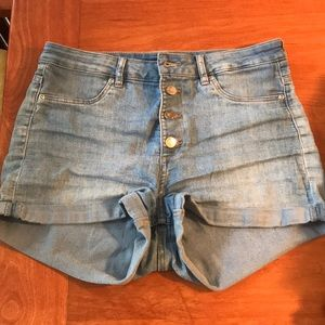 H & M Light Wash Shorts